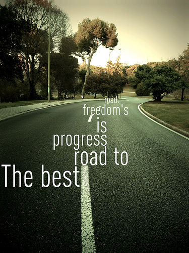 Progress road