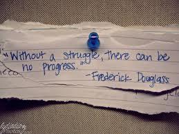 struggle Frederick Douglas